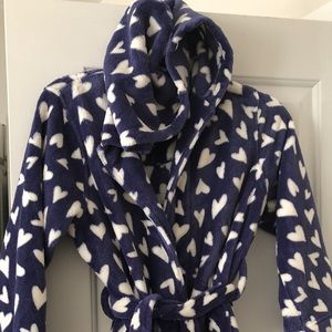 Tucker & Tate Girls plush Robe (M)